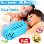 2 in 1 anti snore and air purifier