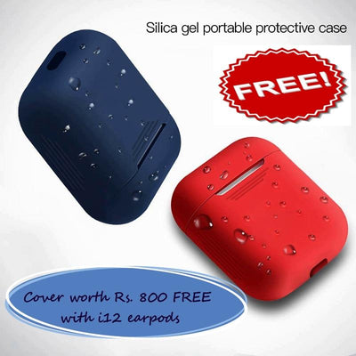 i12- Wireless Autoconnect Earpods one cover free *