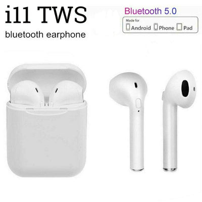 i11 - Wireless Earpods with Finger Print Control
