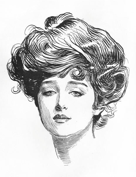 Hairstyles Through History 1910s Gibson Girl