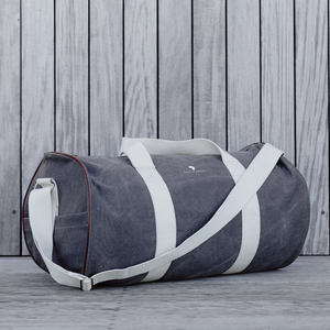 Charcoal Duffel Bag