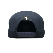 Load image into Gallery viewer, Kiddies Navy Flat Peak