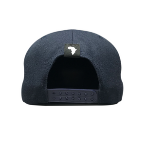 Kiddies Navy Flat Peak