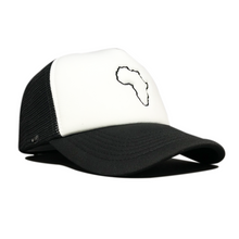 Load image into Gallery viewer, Kiddies Black & White Trucker