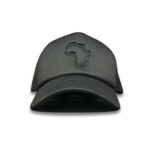 Kiddies Black/Black Trucker