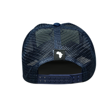 Load image into Gallery viewer, Kiddies Navy & White Trucker