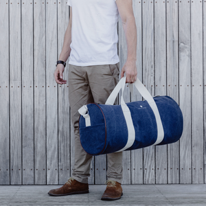Navy Duffel Bag