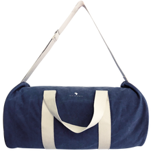 Load image into Gallery viewer, Navy Duffel Bag