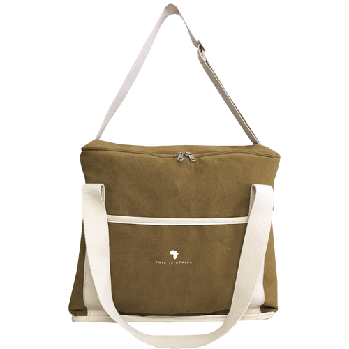 Khaki Cooler Bag
