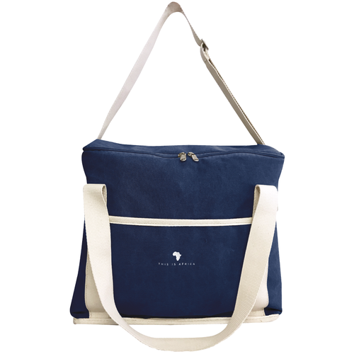Navy Cooler Bag