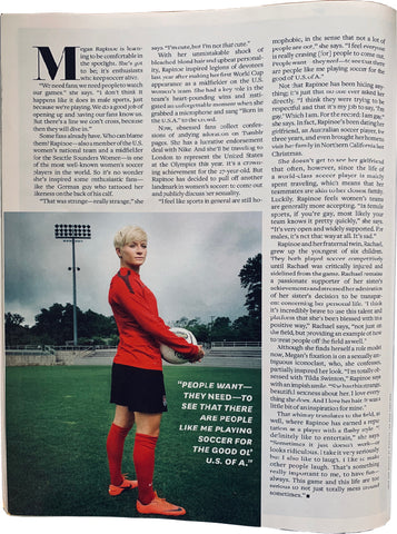 Megan Rapinoe article