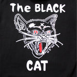 Load image into Gallery viewer, Black Cat Hoodie back close