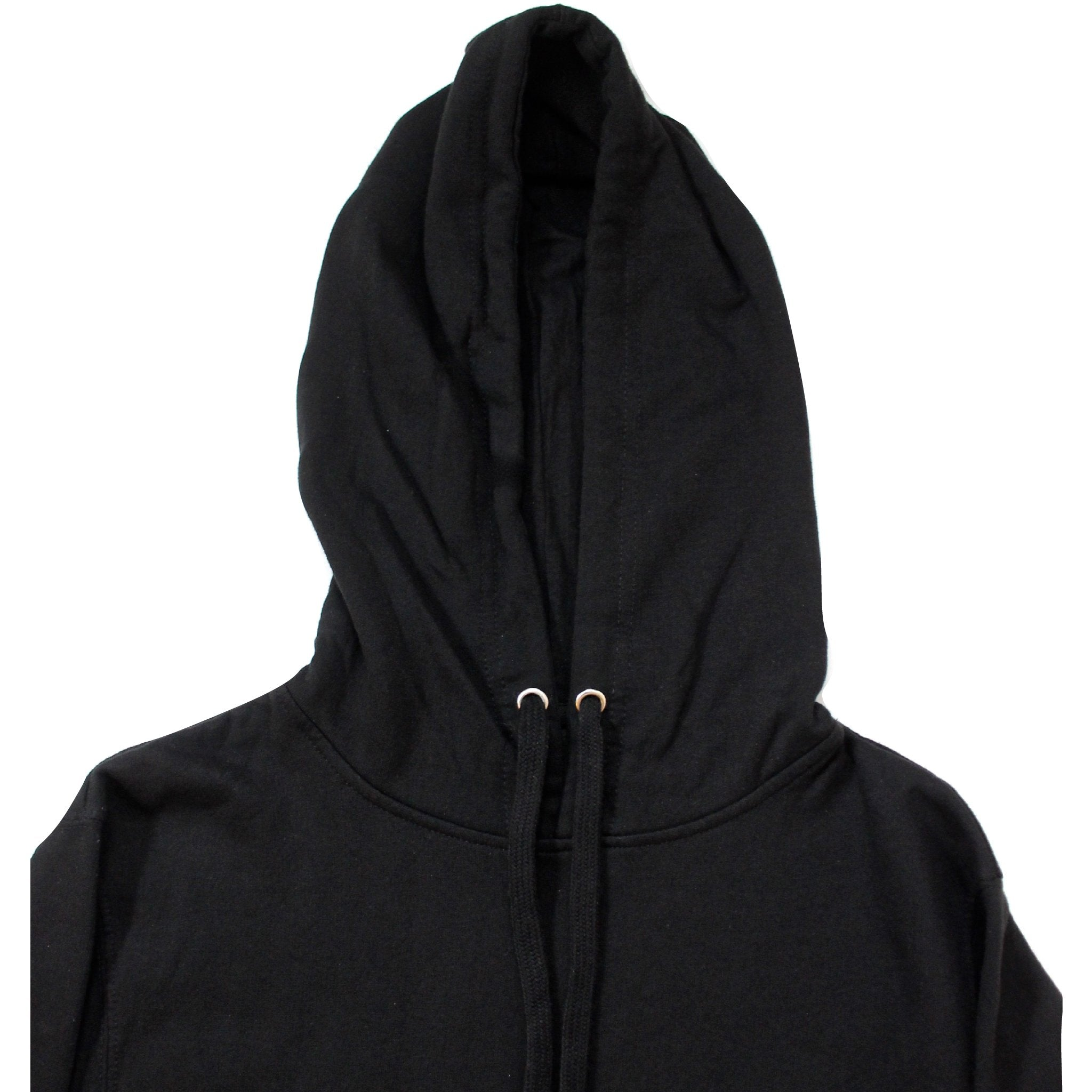 Black Cat Hoodie front close