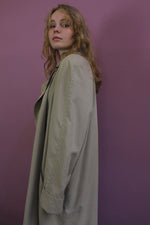 Afbeelding in Gallery-weergave laden, vintage beige trench coat
