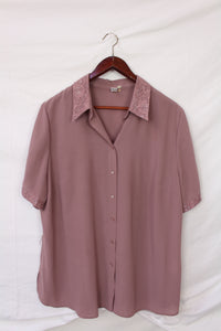 Dusty pink blouse (XL)