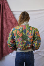 Afbeelding in Gallery-weergave laden, Colorful padded jacket