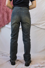 Afbeelding in Gallery-weergave laden, Dark denim Fred Perry jeans (M)
