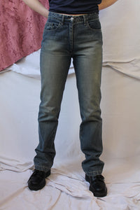 Dark denim Fred Perry jeans (M)