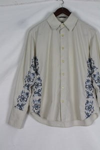 Pepe jeans blouse with blue embroidery