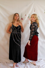 Afbeelding in Gallery-weergave laden, vintage party outfit