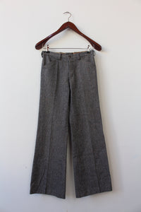 Grey 70's flared pants (XXS/XS)