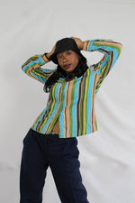 Afbeelding in Gallery-weergave laden, Funky stripes blouse