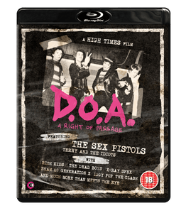 DOA – A Right of Passage Blu-Ray / DVD Dual Format