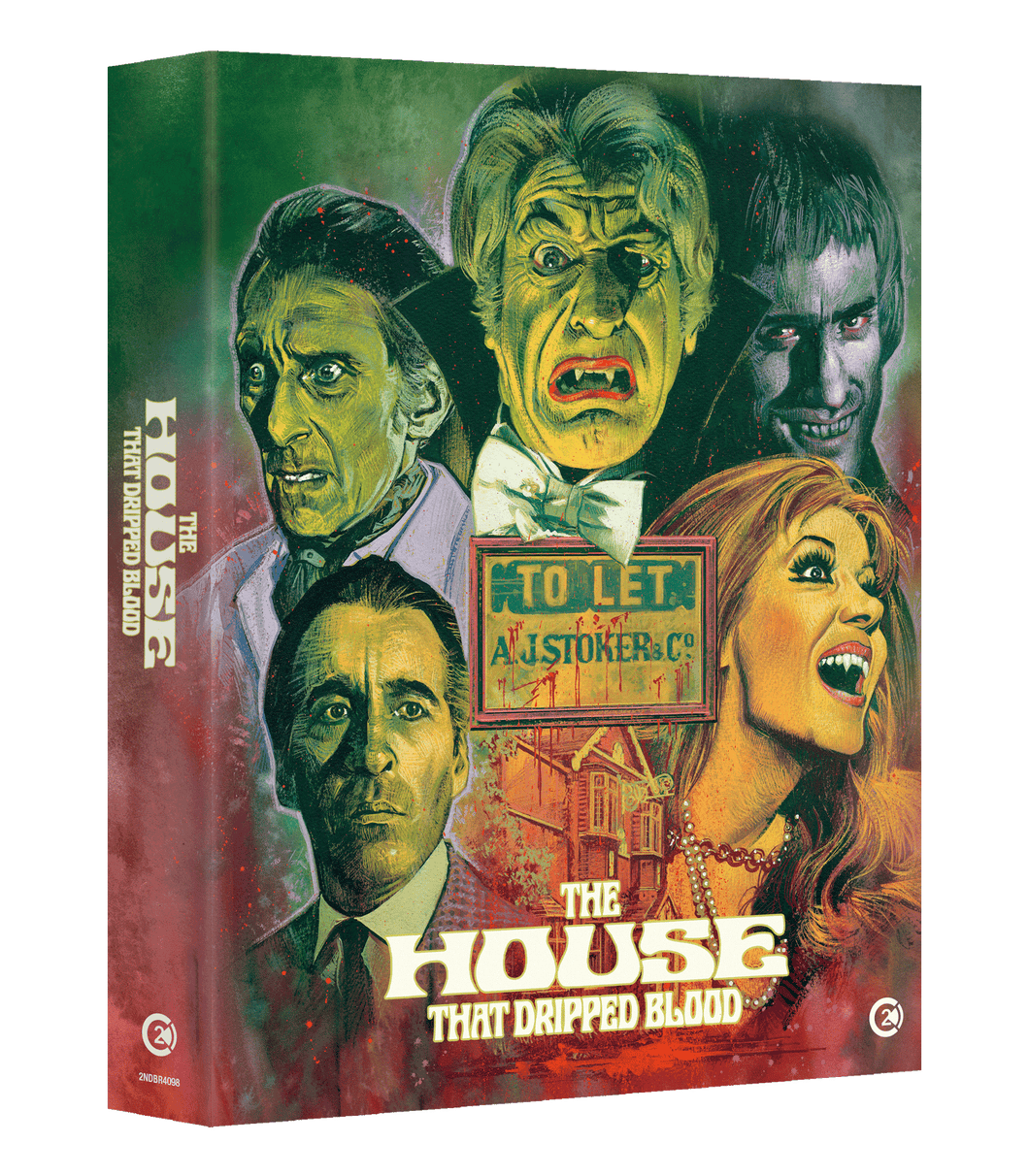 The House That Dripped Blood PRE ORDER: AVAILABLE 29TH JULY
