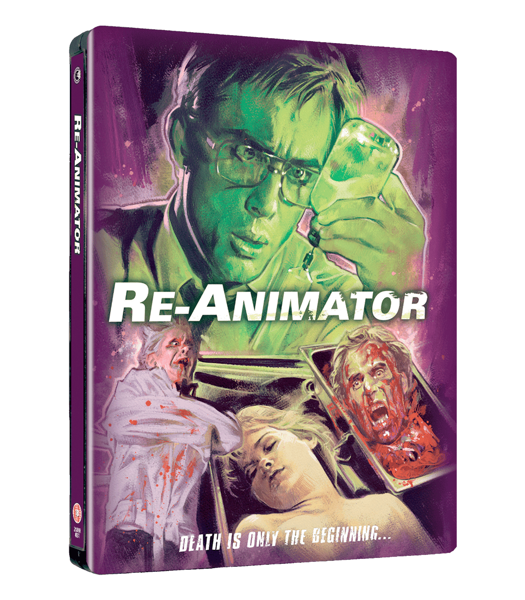 Re-Animator Limited Edition Steelbook