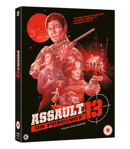 Assault on Precinct 13 40th Anniversary Limited Edition Box Set - OUT OF PRINT