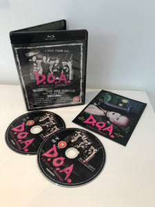 DOA – A Right of Passage DVD / Blu-Ray Dual Format