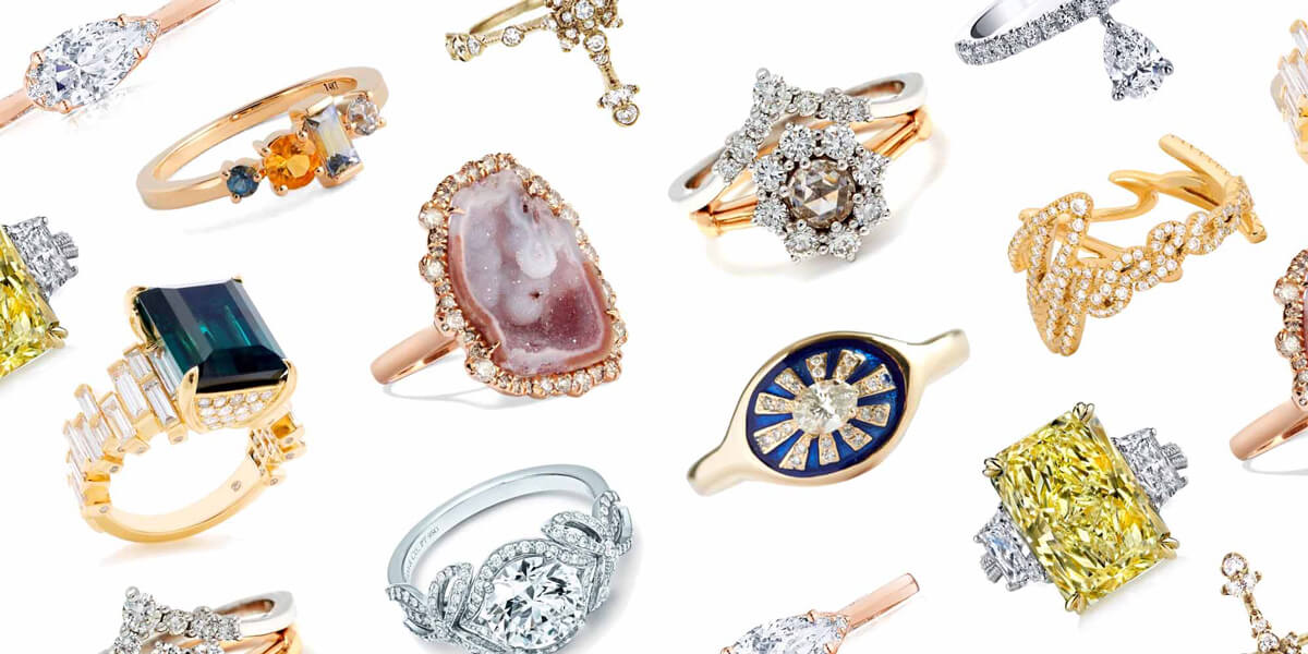 Everything you need to know to pick one of a kind engagement rings