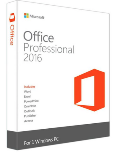 Microsoft Office Professional 2016 för Windows officepakke.se