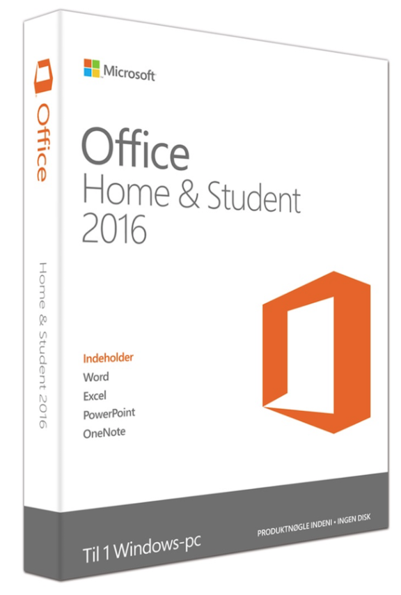 Microsoft Office hem & Student 2016 för Windows officepakke.se