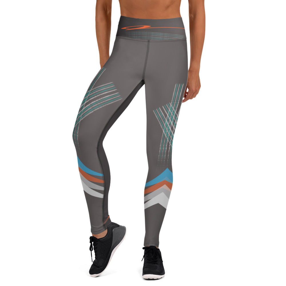 Strisce High Waist Leggings