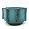 BKB Ceramics - Blue on Black #5