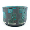 BKB Ceramics - Blue on Black #2