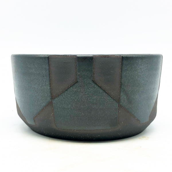 BKB Ceramics - Black on Black Planters in medium B