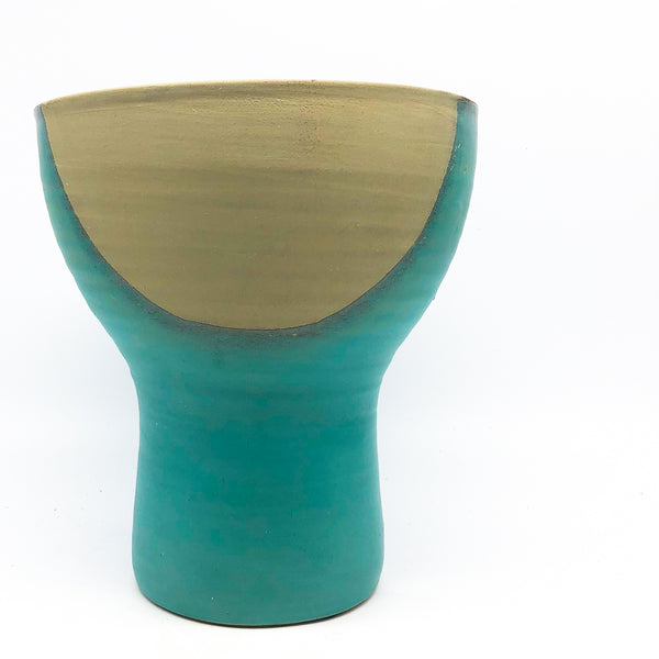 Nok Terra-cotta Art Design Planters: Tall Bowl