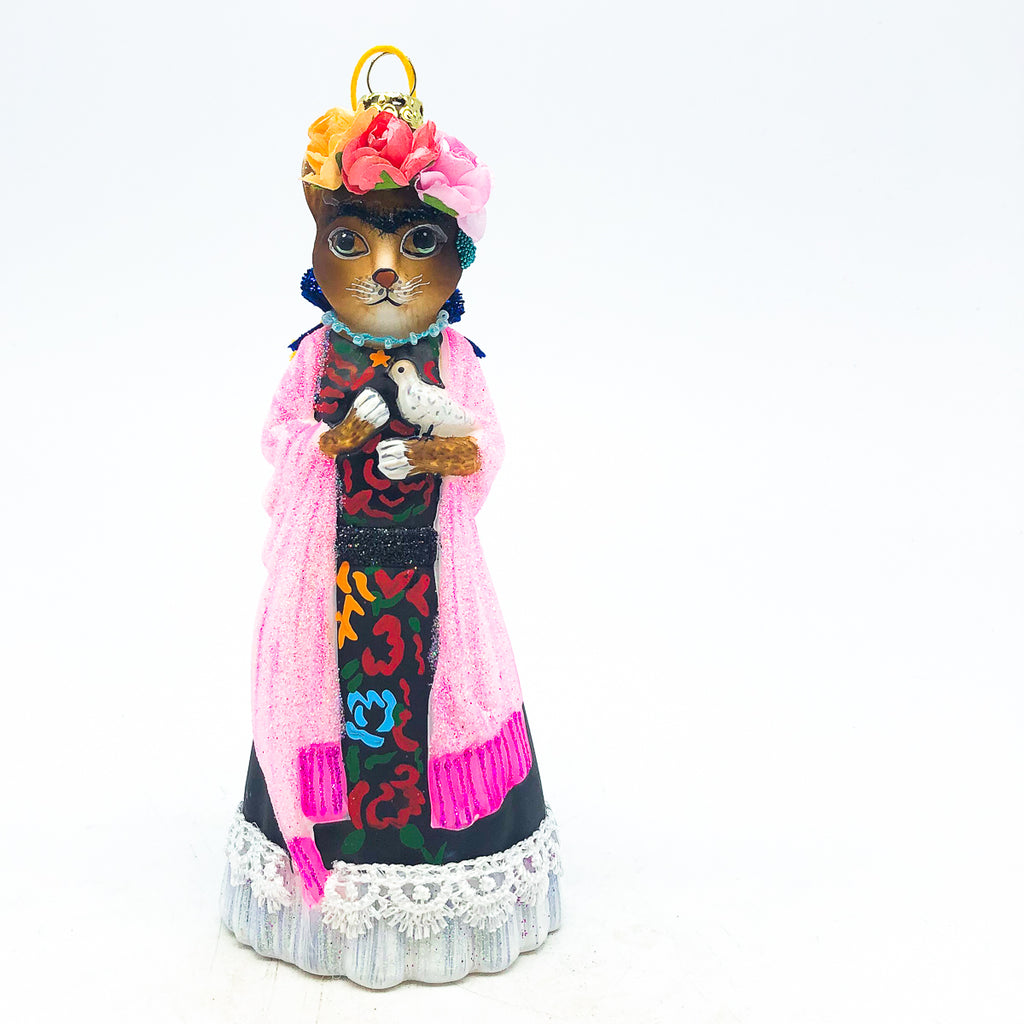 Frida Cat Ornament