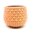Pink Fish Scale Cache Pot