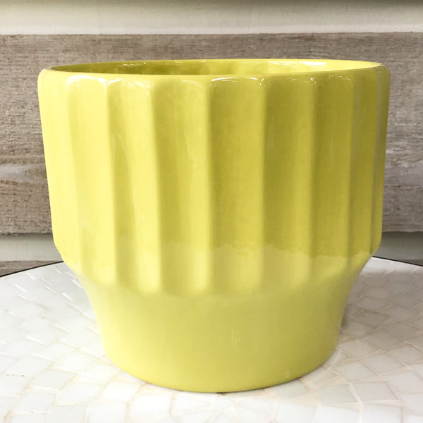 Bauer Biltmore Pot in Chartreuse