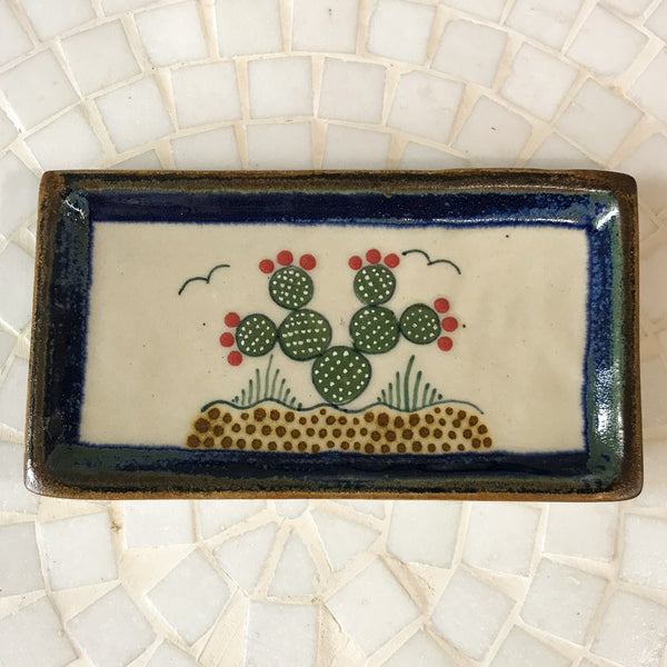 Nopal Rectangle Catch All Dish