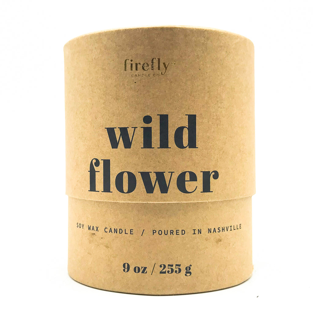 Terra-cotta Firefly Candles - wild flower