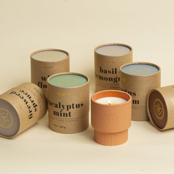 Terra-cotta Firefly Candles
