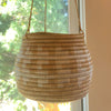 Hanging Woven Planter Natural/White