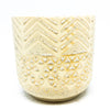 Indo Speckled Cream Pot