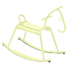 Fermob Adada Rocking Horse in frosted lemon
