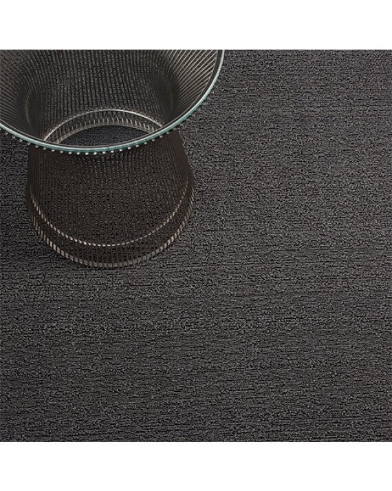Mercury solid colored Chilewich outdoor mat.