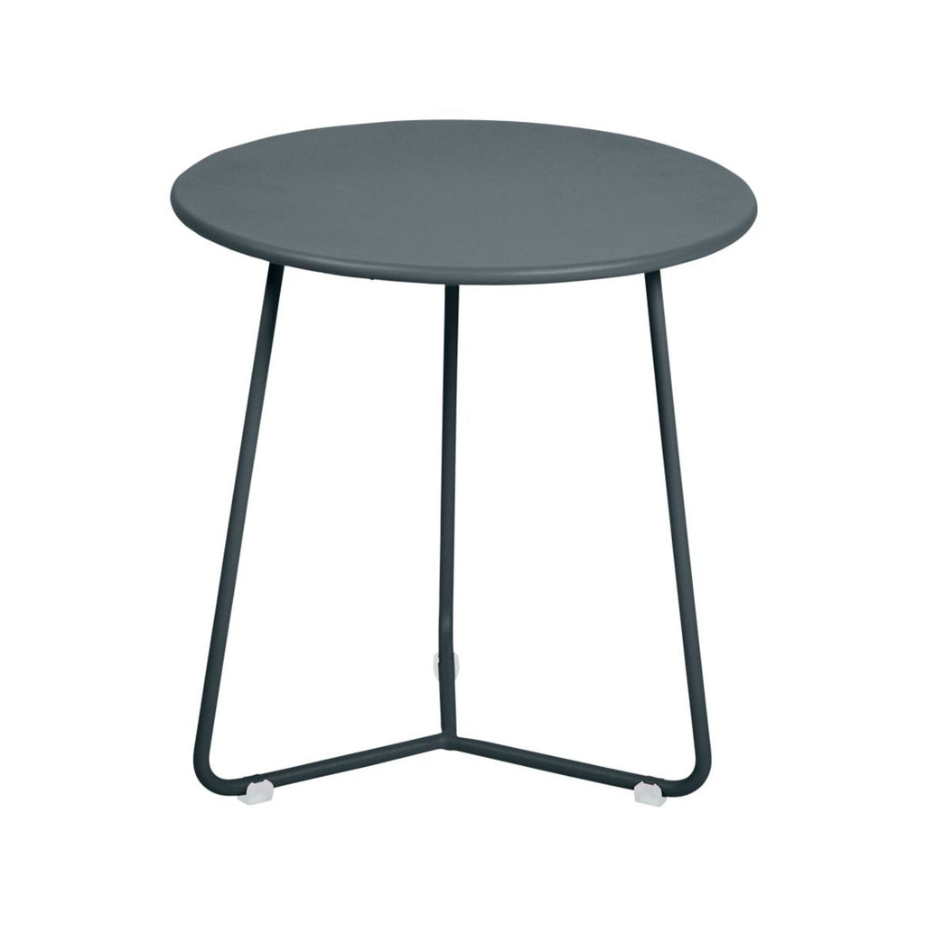 Fermob Cocotte Side Table in storm grey